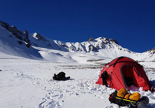 Experience The Joy Of Tent Camp At An Altitude Of 2.200 Mt On Erci̇yes