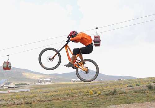 """Erci̇yes Bi̇ke Park"", Turkey's First And Only Mountain Bike Park"