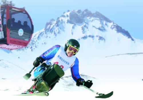 Erci̇yes International Snow Festival For The Disabled Has Become A Custom